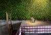 CORNFLOWER - Green Wall made of Artificial Decorative Plants - GD215